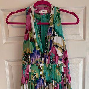 Calvin Klein Floral Dress Size 8